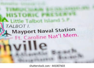 Mayport Naval Station. Florida. USA