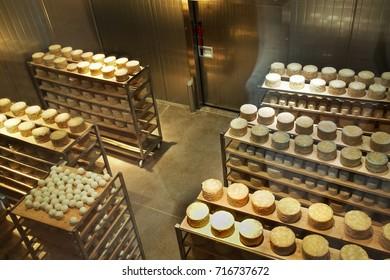 MAYRHOFEN. AUSTRIA. 18 JUNE 2008 : Cheese factory in Mayrhofen. Austria