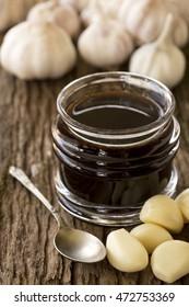 Mayu, Japanese burnt garlic tare for Aruba soba. Non-sharpen file