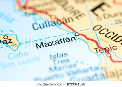 Culiacan Mexico On Map Stock Photo Edit Now 1033041283 Shutterstock