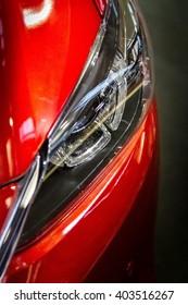 Mazda head light