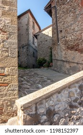 A Maze of Alleyways in Anghiari, Italy