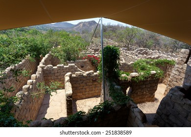 Maze, labyrinth in Lost City, Luxury Resort in South Africa