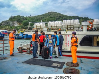 Mazu/Matsu,Fujian/Fukien,Taiwan 6/19/2018  Mazu/Matsu Beigan Baisha Harbor R.O.C. COAST GUARD