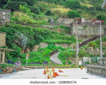 Mazu/Matsu,Fujian/Fukien,Taiwan 6/19/2018  Mazu/Matsu Beigan Baisha Village Street view