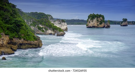 mbawana beach from Sumba island
