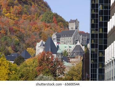Mc Gill University in autumn