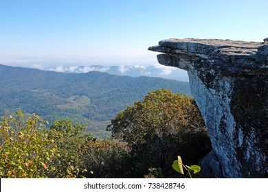 McAfee Knob, Appalachian Trail, Catawba Valley, near Virginia Tech, Blacksburg, USA