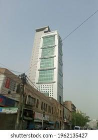 Mcb tower building on I I chundrigar road    - Karachi Pakistan - Apr 2021