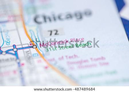 Mc Cormick Place Chicago Illinois Usa Stock Photo Edit Now