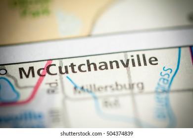 McCutchanville. Indiana. USA