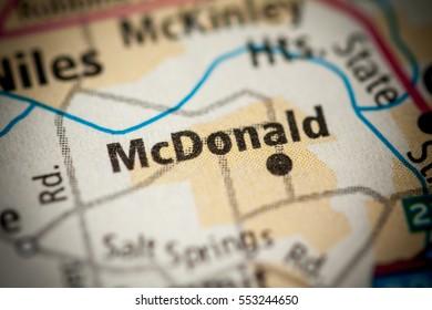 McDonald. Ohio. USA