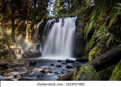 McDowell Creek waterfalls Lebanon Oregon