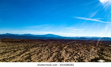 McDowell Mountain Regional Park Drone Panorama