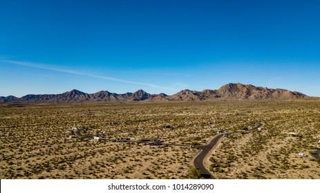 McDowell Mountain Regional Park Drone Panorama, Arizona