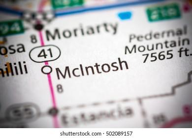 McIntosh. New Mexico. USA.