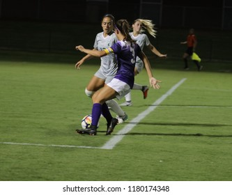 MCKenze Cook midfielder for the Grand Canyon University Lopes at GCU Stadium in Phoenix,AZ USA September 13,2018.