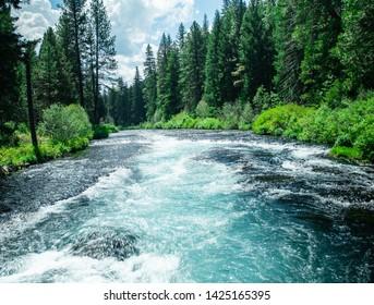 The McKenzie River in oregon