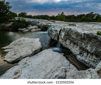 McKinney Falls at Sunset, Austin