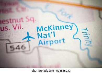 McKinney National Airport. Texas. USA