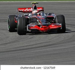 McLaren's British F1 driver Lewis Hamilton