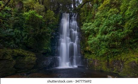 Mclean Falls, New Zealand.