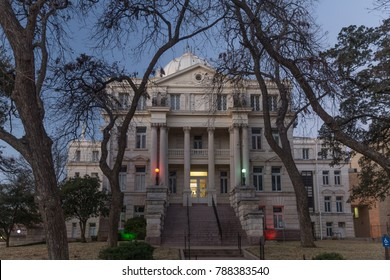 McLennan County courthouse in Waco Texas