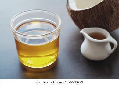 MCT oil, coconut healthy oil