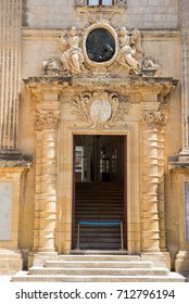 MDINA, MALTA - AUGUST 21, 2017: Tourists visiting the beautiful Silent city of Mdina.  Mdina is one of Game of Thrones movie HBO filming locations in Malta