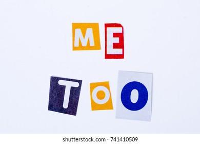 Me too hashtag # metoo avareness of sexual harrassment movement