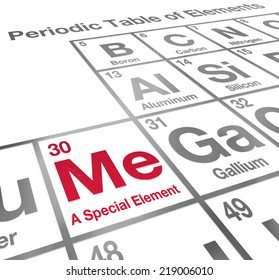 Ha element humor periodic table funny stock illustration 167624180 me a special element words on a periodic table to illustrate confidence and determination with unique urtaz Choice Image