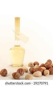 Mead, hazelnuts and almonds