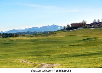 Meadows near Fentbach in Upper Bavaria