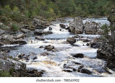 Meandering River Black Water