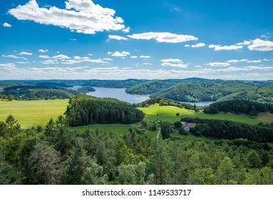 Meanders of the river Vltava
