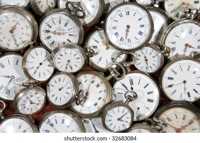 """meanwhile, """"pocket watch"""", hour, minute, second, past, rustic, old, collection, clock, stopwatch"""