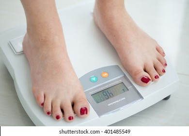 Measure of the body fat percentage