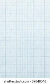 Measurement grid scale paper background.
