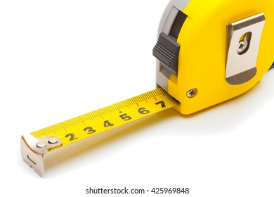Measuring and calculating instruments - yellow ruler