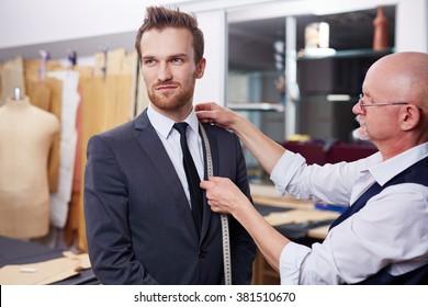 Measuring collar of jacket