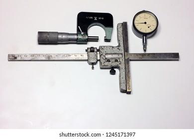 Measuring instruments micrometer
