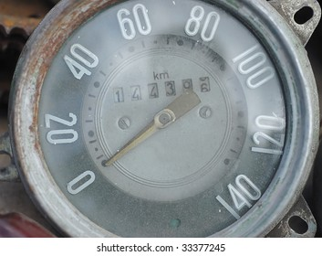 Measuring the speed of an old car