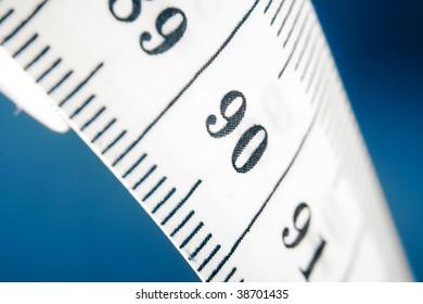 measuring tape close-up