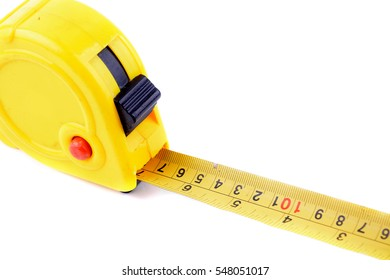 Measuring Tape on isolated white background