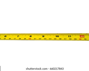 measuring tape on white background isolated
