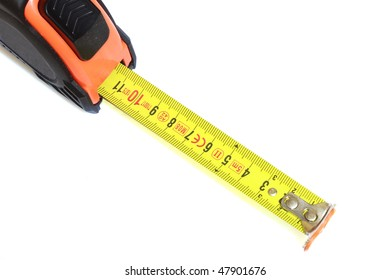 The measuring tool on a white background