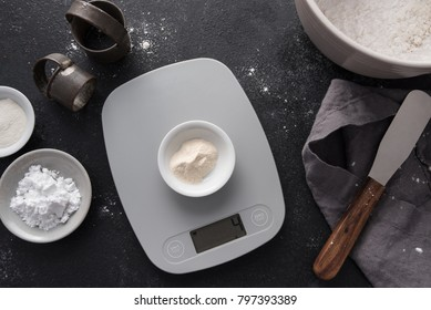 Measuring xanthan gum