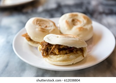 meat clip buns, xian delicacies, chinese hamburger