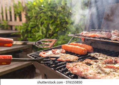 Meat grilling