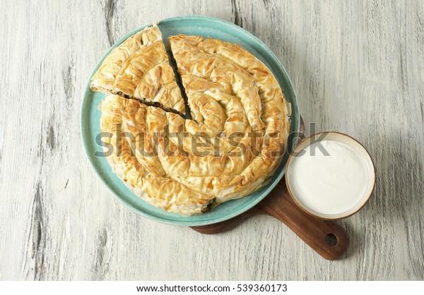 Meat pie (Burek), Turkish and Balkan cuisine